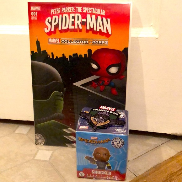 Spider-Man homecoming collector pack